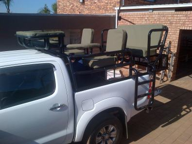 Toyota double cab and Nissan Navara Hunting frame