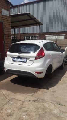 Ford Fiesta Stripping for spare parts.
