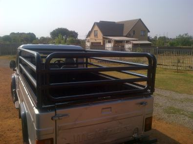 Fruit and vegatables transport bakkie cages