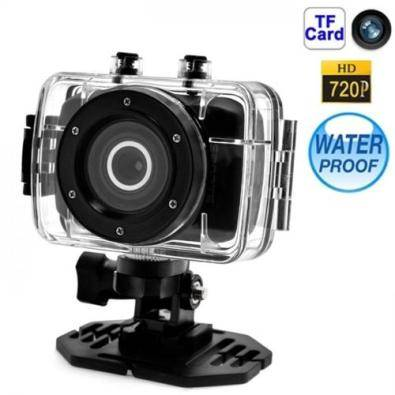 HD 720P Action Sports DV Helmet Car Bicycle Camera