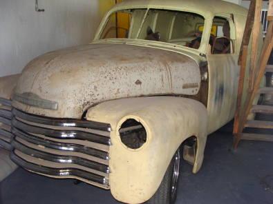 1948 Chevy panel van (not sedan delivery) | Junk Mail