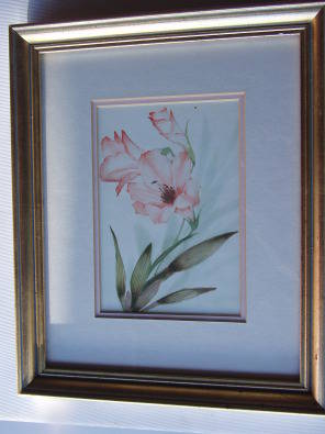 Genuine Hand Painted - Original Water Colour with