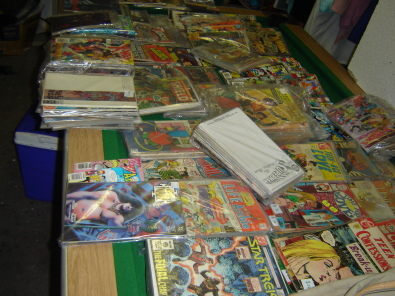 Collectors one of a kind comic collection