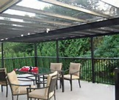 GLASS PATIO ENCLOSURE
