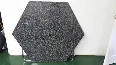 Granite table top - hexagonal