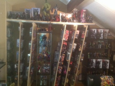 Huge collection of Marvel and DC action figures