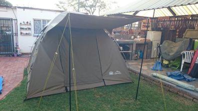 C& Master Safari dome 510 5 sleepercanvas tent & Camp Master Safari dome 510 5 sleepercanvas tent | Junk Mail
