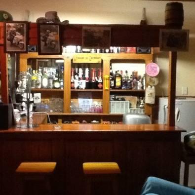 Bar + Fridge