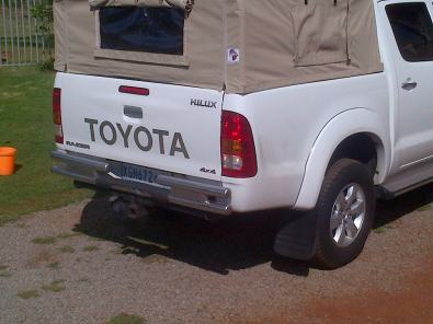 Toyota Hilux Ripstop canvas canopy & Toyota Hilux Ripstop canvas canopy | Junk Mail