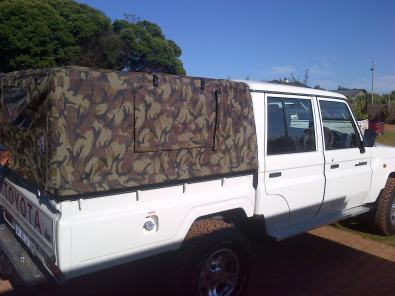 & Land Cruiser Ripstop canvas canopy | Junk Mail