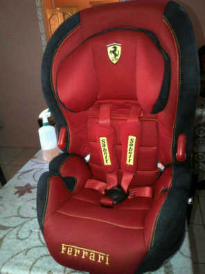 Ferrari Car Seat and Large Baby Bouncer