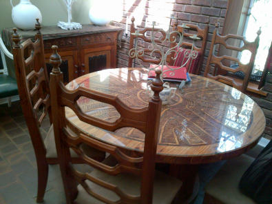 Second Hand Wooden Dining Room Suite For Sale Junk Mail