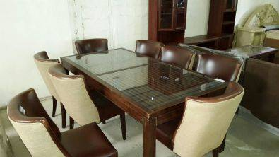 Coricraft Dining Room Table And 8 Watts