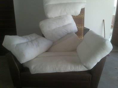 Coricraft inner cushions for Petite corner unit