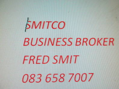 SMITCO BUSINESS BROKER FOR ASSISTANCE TO SELL AND BUY