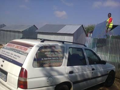 steel zozo huts limpopo , steel sheds polokwane