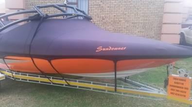 Custom boat covers by Coverworx Custom Covers - it fits like