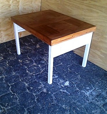 Study desk Farmhouse series 1130 Two tone
