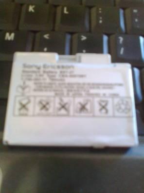 Sony ericsson BST-27 battery