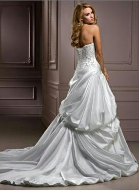 Maggie Sottero Olive wedding dress