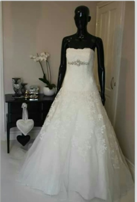 Designer wedding dresses for sale and hire