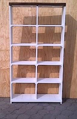 Bookshelf Farmhouse Series 1150 Two Tone