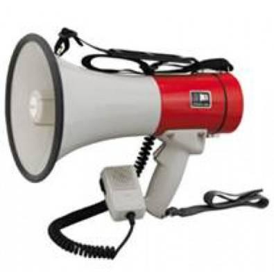 Megaphone Loudhailer & Siren 30W Loose Mic (HY3007)