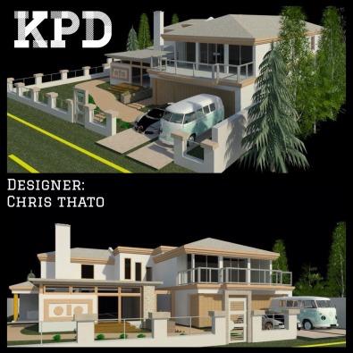 Architectural 3D House Plans