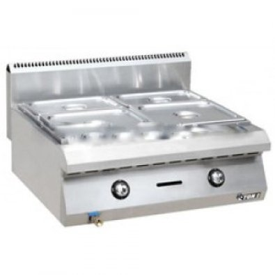 BAIN MARIE 4 DIVISION TABLE MODEL GAS