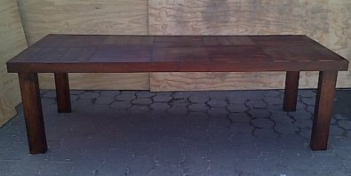 Patio table Farmhouse series 2500 Stained