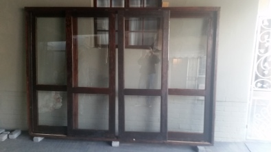 Double Wooden Sliding Door With Glass Junk Mail