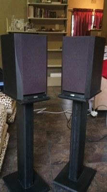 BW DM302 Bookshelf Speakers For Sale
