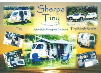 Sherpa Tiny  (Fibreglass caravans) for sale  Johannesburg - East Rand