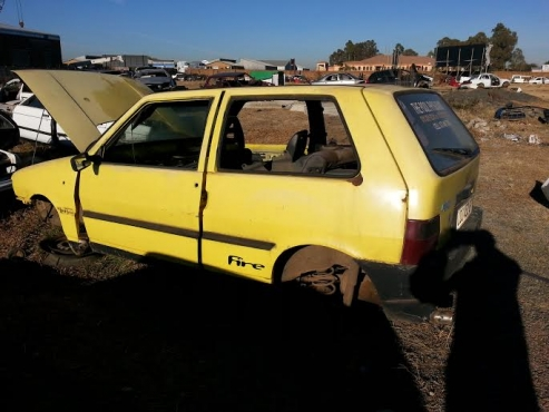 Fiat Uno stripping for spare parts