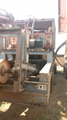 20/36 Osborn Jaw Crusher