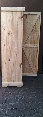 Kitchen Cupboard Farmhouse series Free standing 1800 with 1 door Raw