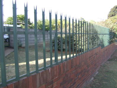 STEEL FENCING IS ALL