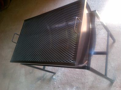 drum charcoal braais