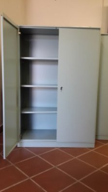 4x Second Hand Steel Cupboards Ideal For Garage