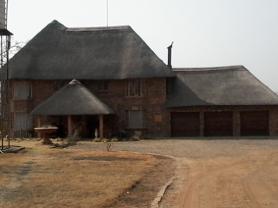 2.2 Ha With Double Storey, Thatched Roof House