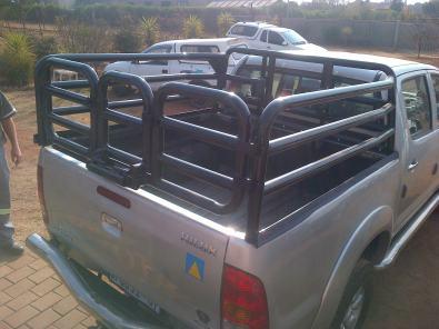 Cattle rails for bakkies