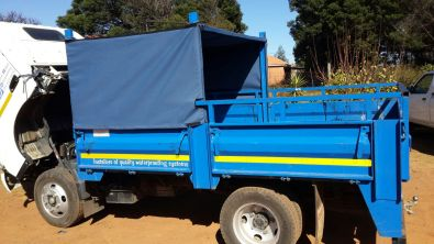 Canvas canopies for trucks