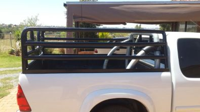 Second hand cattle frame for a ISUZU single cab
