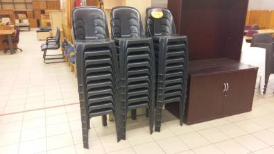 Stacker chairs for sale (R60.00)