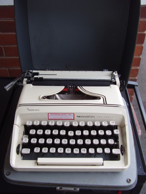 Remington Typewriter - Ten Forty