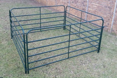 Portable sheep fencing and druk gang