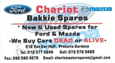 Chariot Bakkie Spares