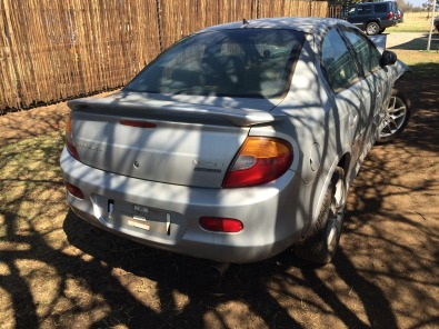 Chrysler Neon 2.0 RT Stripping for spares