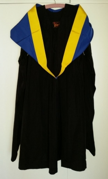 NMMU Graduation Gown & Law Faculty Hood
