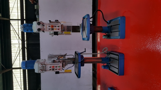 Gear head drilling machines
